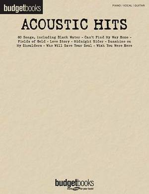 Acoustic Hits: Piano/Vocal/Guitar