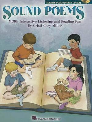 Sound Poems More Interactive Listening and Reading Fun Bk/CD