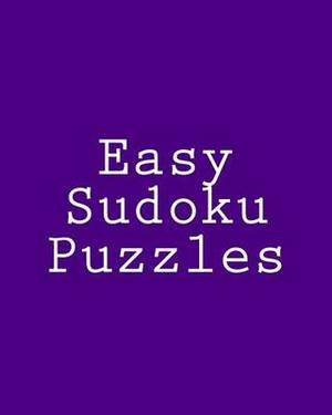 Easy Sudoku Puzzles: Challenging, Large Print Puzzles