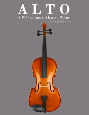 Alto: 4 Pieces Pour Alto Et Piano