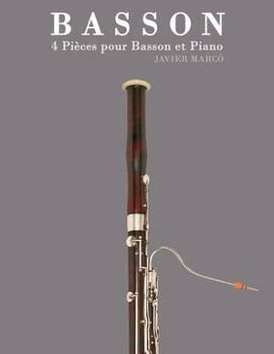 Basson: 4 Pieces Pour Basson Et Piano