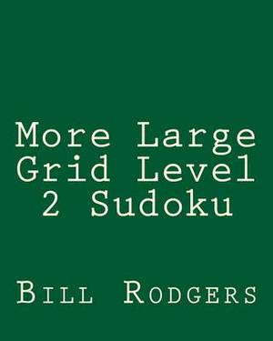 More Large Grid Level 2 Sudoku: 80 Easy to Read, Large Print Sudoku Puzzles