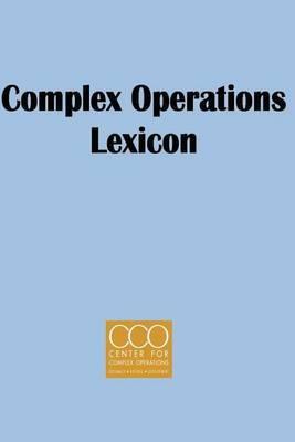 Complex Operaton Lexicon