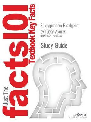 Studyguide for Prealgebra by Tussy, Alan S.