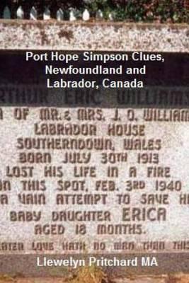 Port Hope Simpson Clues, Newfoundland and Labrador, Canada: Port Hope Simpson Mysteries