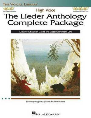 The Lieder Anthology Complete Package: High Voice