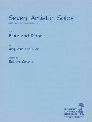 7 Artistic Solos: With Easy Accompaniments