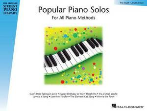 Popular Piano Solos - Prestaff Level: Book Only