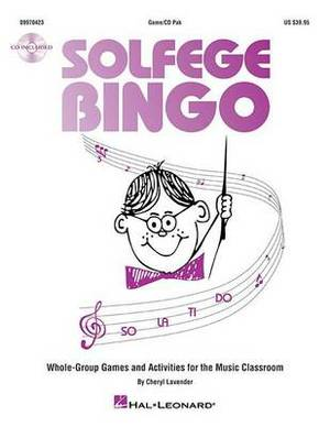 Solfege Bingo: Whole-Group Games and Activities