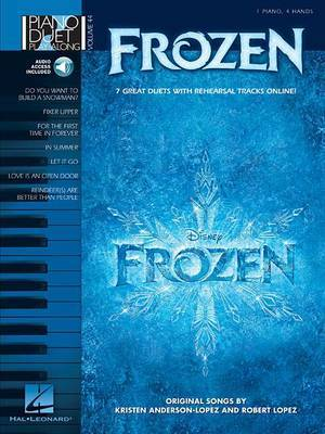 Piano Duet Play-Along: Frozen: Volume 44