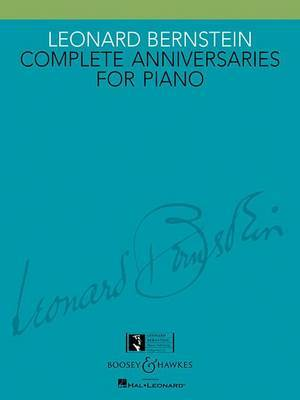 Complete Anniversaries for Piano