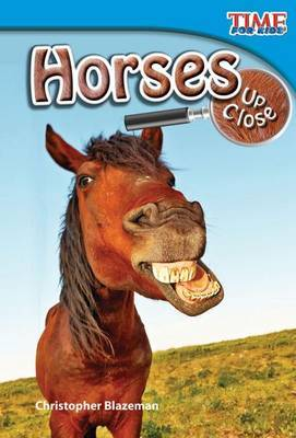 Horses Up Close (Library Bound) (Early Fluent)