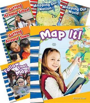 Let's Map It! 6-Book Set (Primary Source Readers: Content and Literacy)