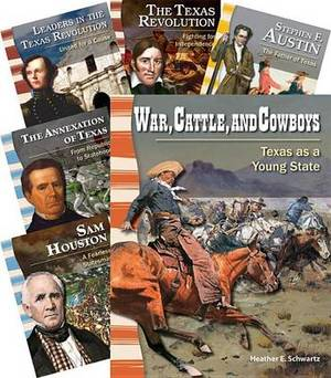 Early Texas History 6-Book Set (Primary Source Readers: Us History)