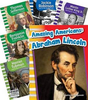 Famous Americans 6-Book Set (Primary Source Readers: Us History)