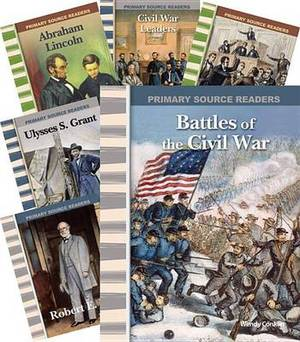 The Civil War 6-Book Set (Primary Source Readers: U.S. History)