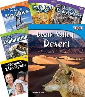 Time for Kids Nonfiction Readers Stem Grade 3, 10-Book Set (Stem)