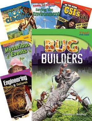 Time for Kids Nonfiction Readers Stem Grade 4, 10-Book Set (Stem)
