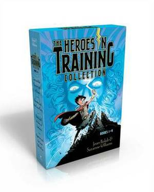 The Heroes in Training Collection, Books 1-4: Zeus and the Thunderbolt of Doom/Poseidon and the Sea of Fury/Hades and the Helm of Darkness/Hyperion and the Great Balls of Fire