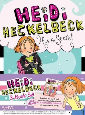 Heidi Heckelbeck 3-Book Set: Heidi Heckelbeck Has a Secret; Heidi Heckelbeck Casts a Spell; Heidi Heckelbeck and the Cookie Contest