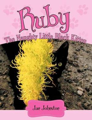 Ruby - The Naughty Little Black Kitten:  Hello! My Name is Ruby ...