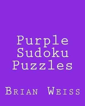 Purple Sudoku Puzzles: Fun, Large Grid Sudoku Puzzles