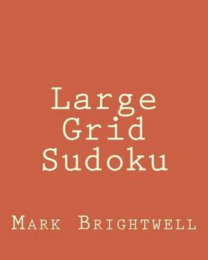 Large Grid Sudoku: Fun, Large Print Sudoku Puzzles