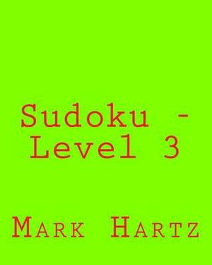 Sudoku - Level 3: Fun, Large Grid Sudoku Puzzles