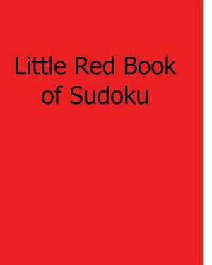 Little Red Book of Sudoku: Fun, Large Print Sudoku Puzzles