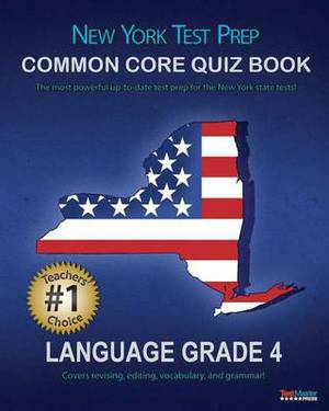 New York Test Prep Common Core Quiz Book Language Grade 4