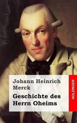 Geschichte Des Herrn Oheims