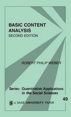 Basic Content Analysis