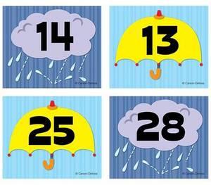 Umbrella/Cloud Calendar Cover-Up