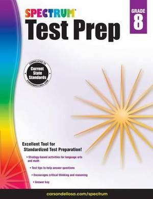 Spectrum Test Prep, Grade 8