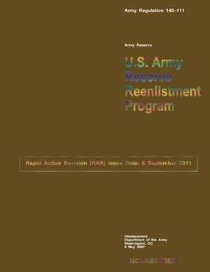 U.S. Army Reserve Reenlistment Program