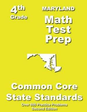 Maryland 4th Grade Math Test Prep: Common Core Learning Standards