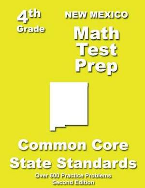New Mexico 4th Grade Math Test Prep: Common Core Learning Standards