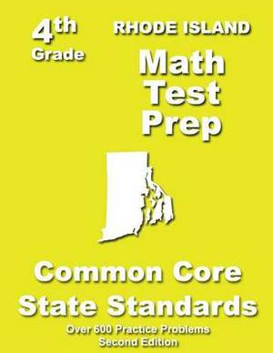 Rhode Island 4th Grade Math Test Prep: Common Core Learning Standards