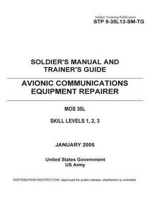 Soldier Training Publication Stp 9-35l13-SM-Tg Soldier's Manual and Trainer's Guide Avionic Communications Equipment Repairer Mos 35l Skill Levels 1, 2, 3