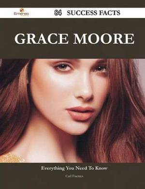 Grace Moore 84 Success Facts - Everything You Need to Know about Grace Moore