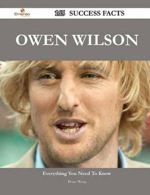 Owen Wilson 165 Success Facts - Everything You Need to Know about Owen Wilson
