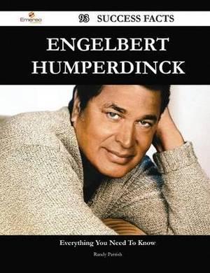 Engelbert Humperdinck 93 Success Facts - Everything You Need to Know about Engelbert Humperdinck