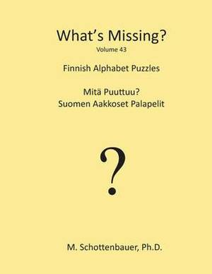 What's Missing?: Finnish Alphabet Puzzles