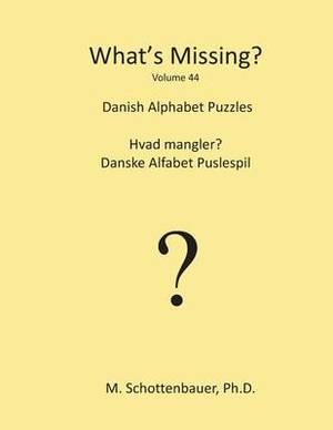 What's Missing?: Danish Alphabet Puzzles