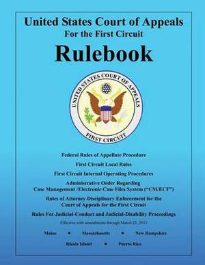 Rulebook: United States Court of Appeals: For the First Circuit