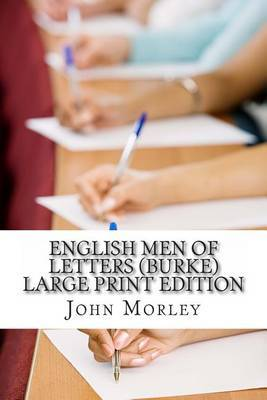 English Men of Letters (Burke