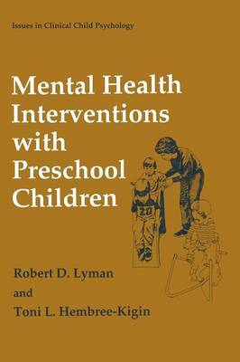Mental Health Interventions with Preschool Children