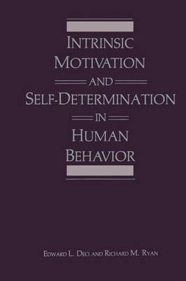 Intrinsic Motivation and Self-Determination in Human Behavior