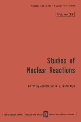 Studies of Nuclear Reactions