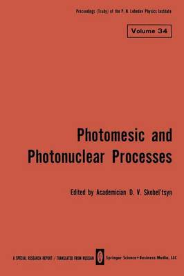 Photomesic and Photonuclear Processes